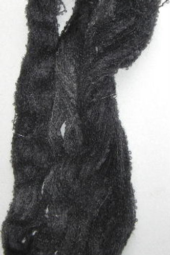 Charcoal Boucle Mohair Knitting Yarn