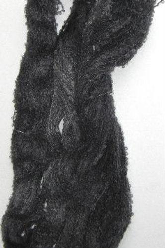 Charcoal Boucle Mohair Knitting Yarn