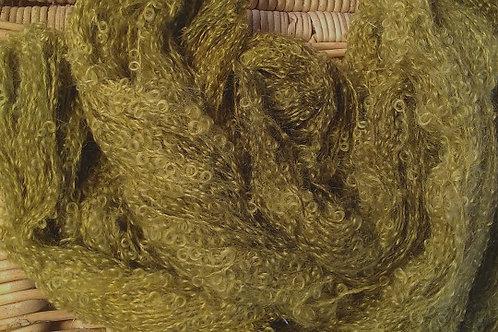 Moss Boucle Mohair Knitting Yarn