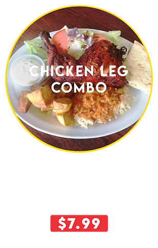 chicken leg combos 7.99 daily special.pn