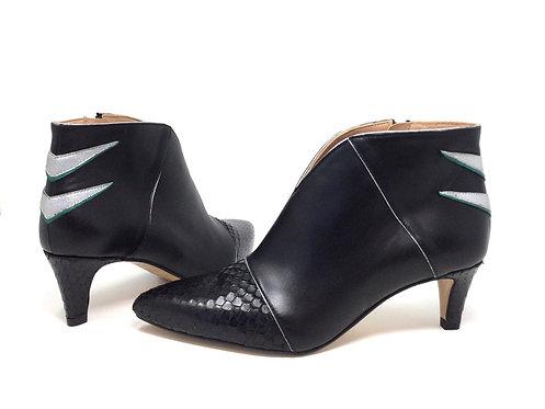 chaussure créatis - boots coloré - chaussure fait main