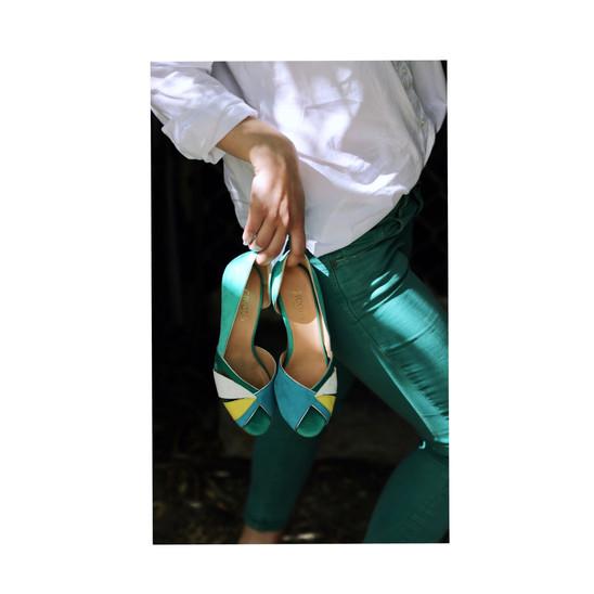 ZUALE - soulier fait mains - marque créatis