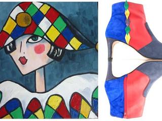 Si les cubistes révèlent l'essence des objets, Créatis dévoile la femme dans son intégralité