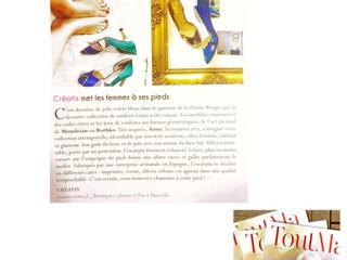 Article : Tout Ma met Créatis et les chaussures made in Marseille à l'honneur