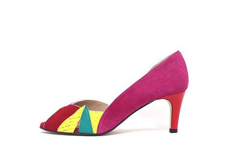 Stilettos 5 ZAMBIE rojo