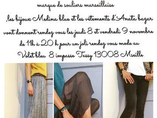 Les emplettes , venteéphémèreen mode créateurs marseillais