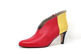 Low boots 5 FRANCK rojo