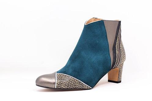 boots bleu