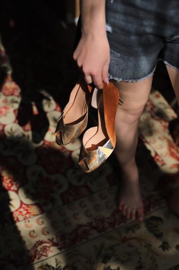 ZAMBIE - soulier fait mains - marque cré