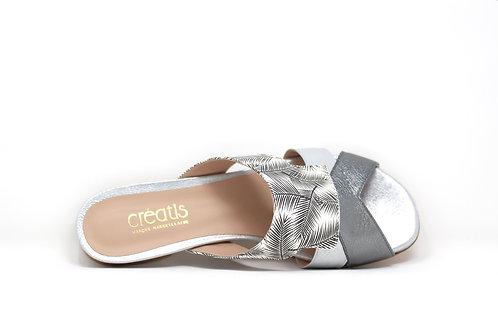 sandale creatis argent