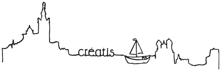 ligne marseille Créatis/ logo marque creatis/ marque marseillaise/ chaussure marque de creation/ chaussure marseillaise