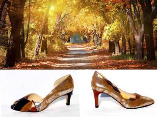 Quand l'automne repeint les chemins et amène avec elle l'âme de l'été....