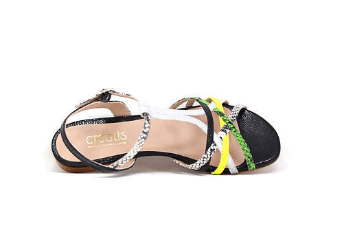 sandale creatis fluo