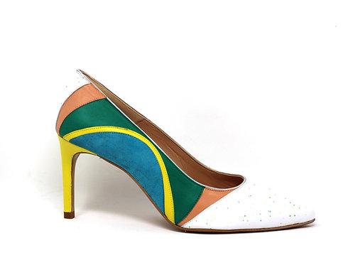 chaussures créatis - chaussures fait main - escarpins - collection printemps/ Eté 2021