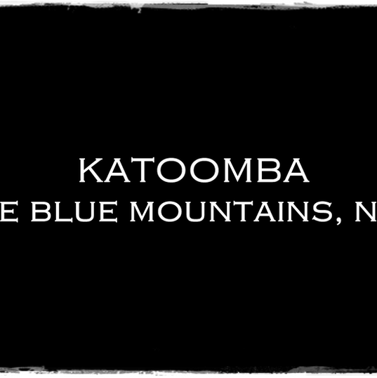 KATOOMBA, BLUE MOUNTAINS, NSW