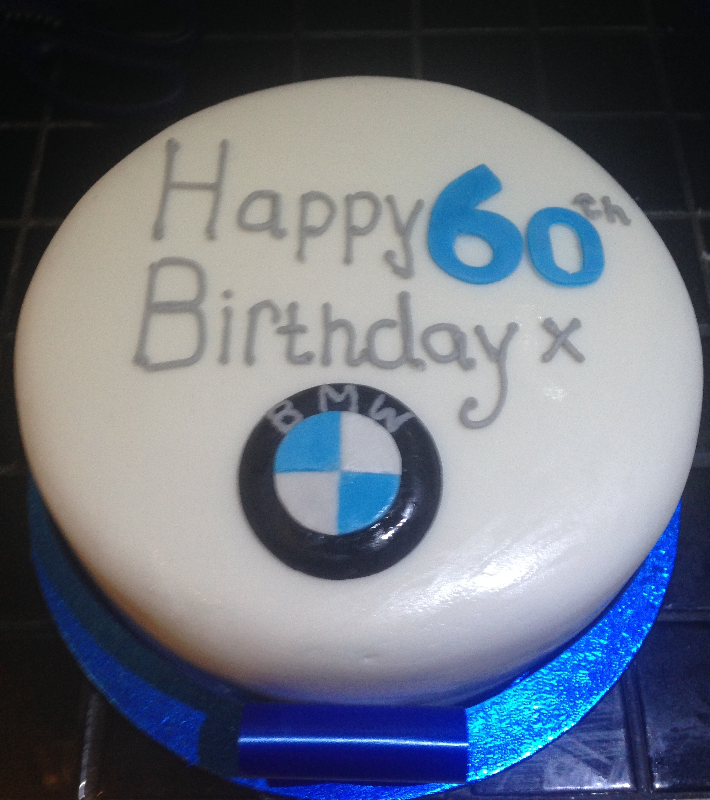 60th Birthday Cake for Men