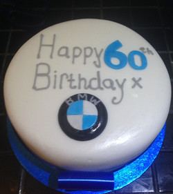 60th Birthday Cake for Men