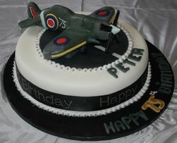 75th Birthday Spitfire Cake