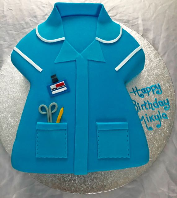 nurse birthday cake