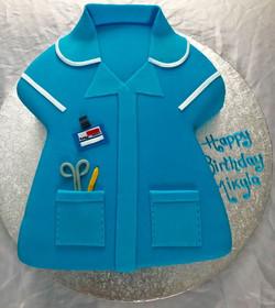 nurse birthday cake