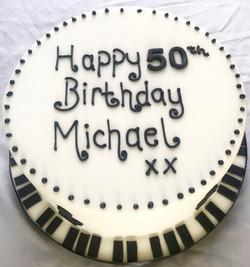 50th Birthday Pino Cake