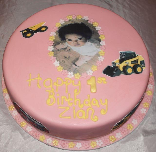 Vegan 1st Birthday cake