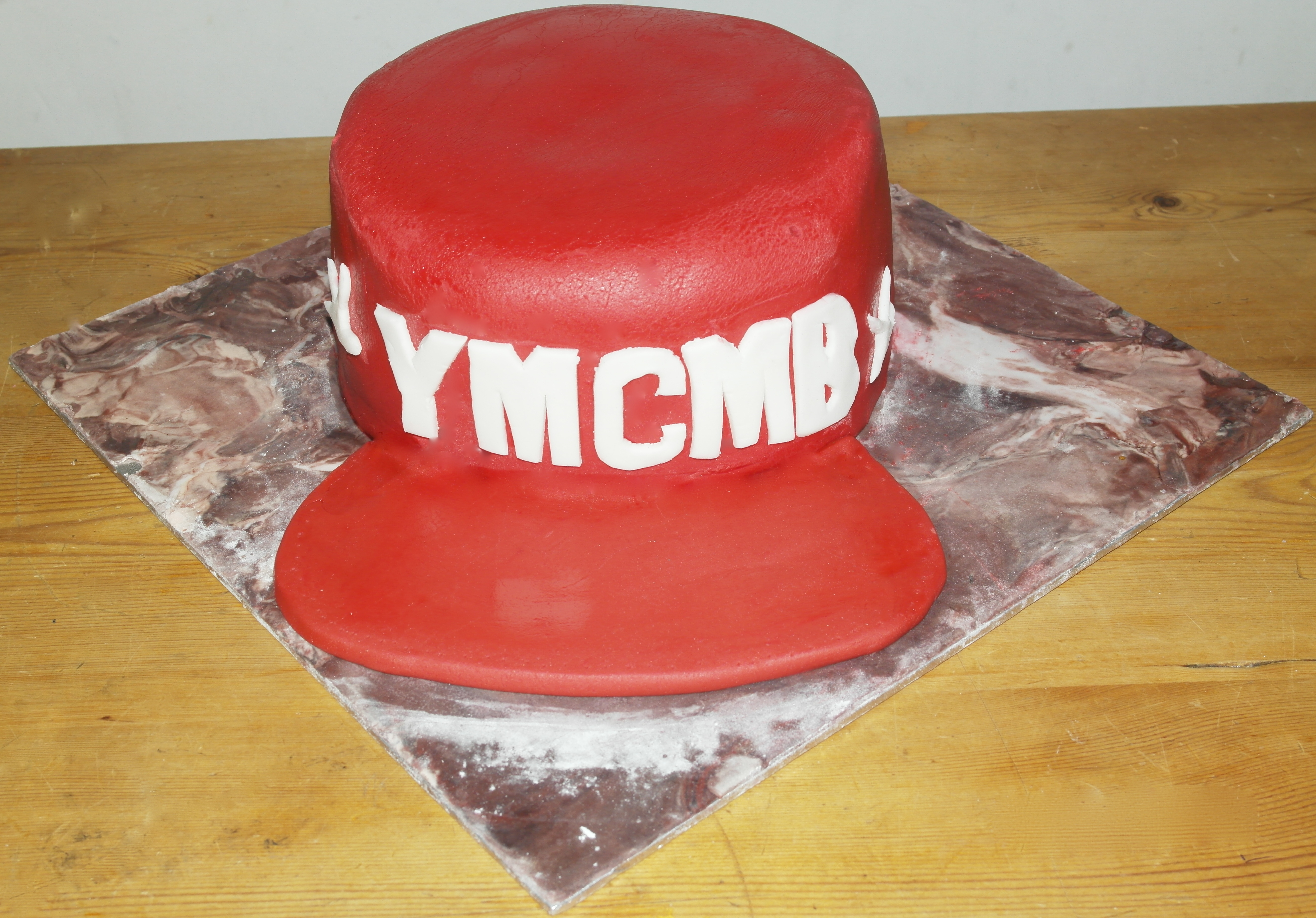 YMCMB Baseball Cap Cake