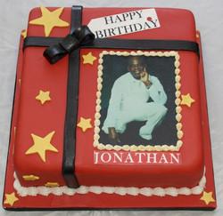 Photo birthday rum cake