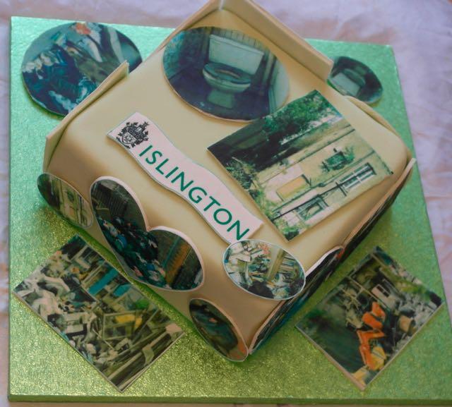 Islington Photo Image cake