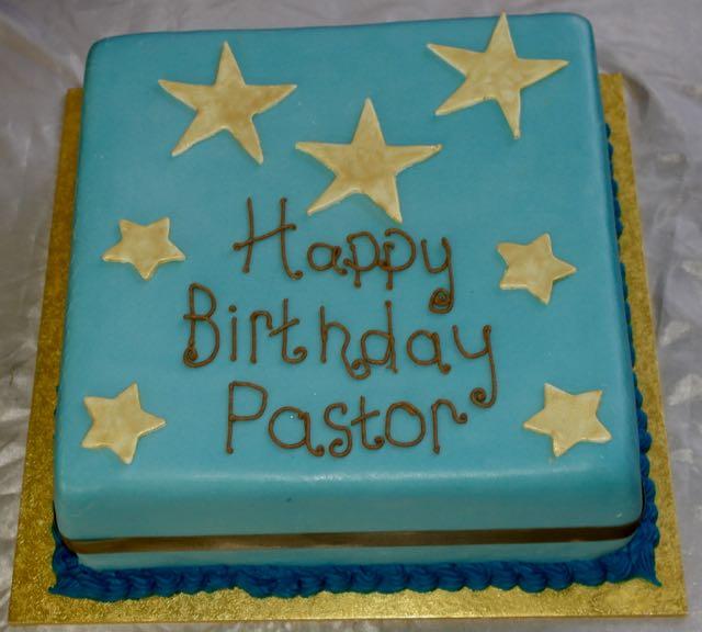 Birthday Cake for Pastor