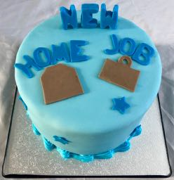 New Home new job cake