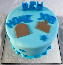 New Home new job cake
