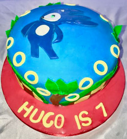 Sonic 7th Birthday cake