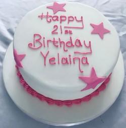 21st Birthday Caje