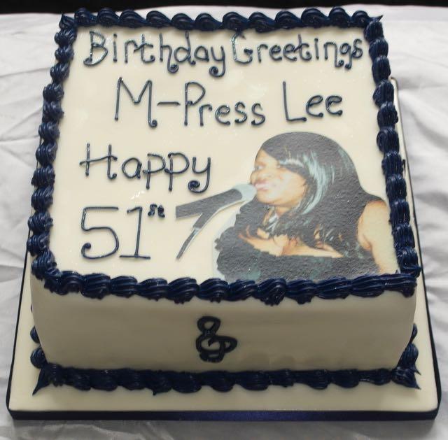 51st Birthday Photo Birthday Cake