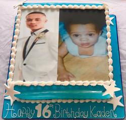 16th Birthday Rum cake