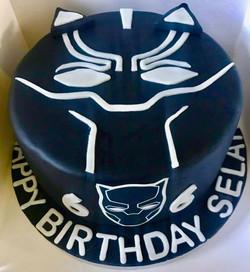 Black Panther 6th birthday cake