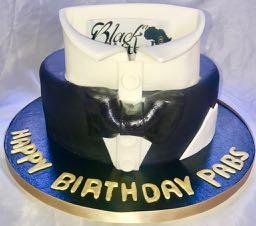 Shirt & Tie Birthday Cake