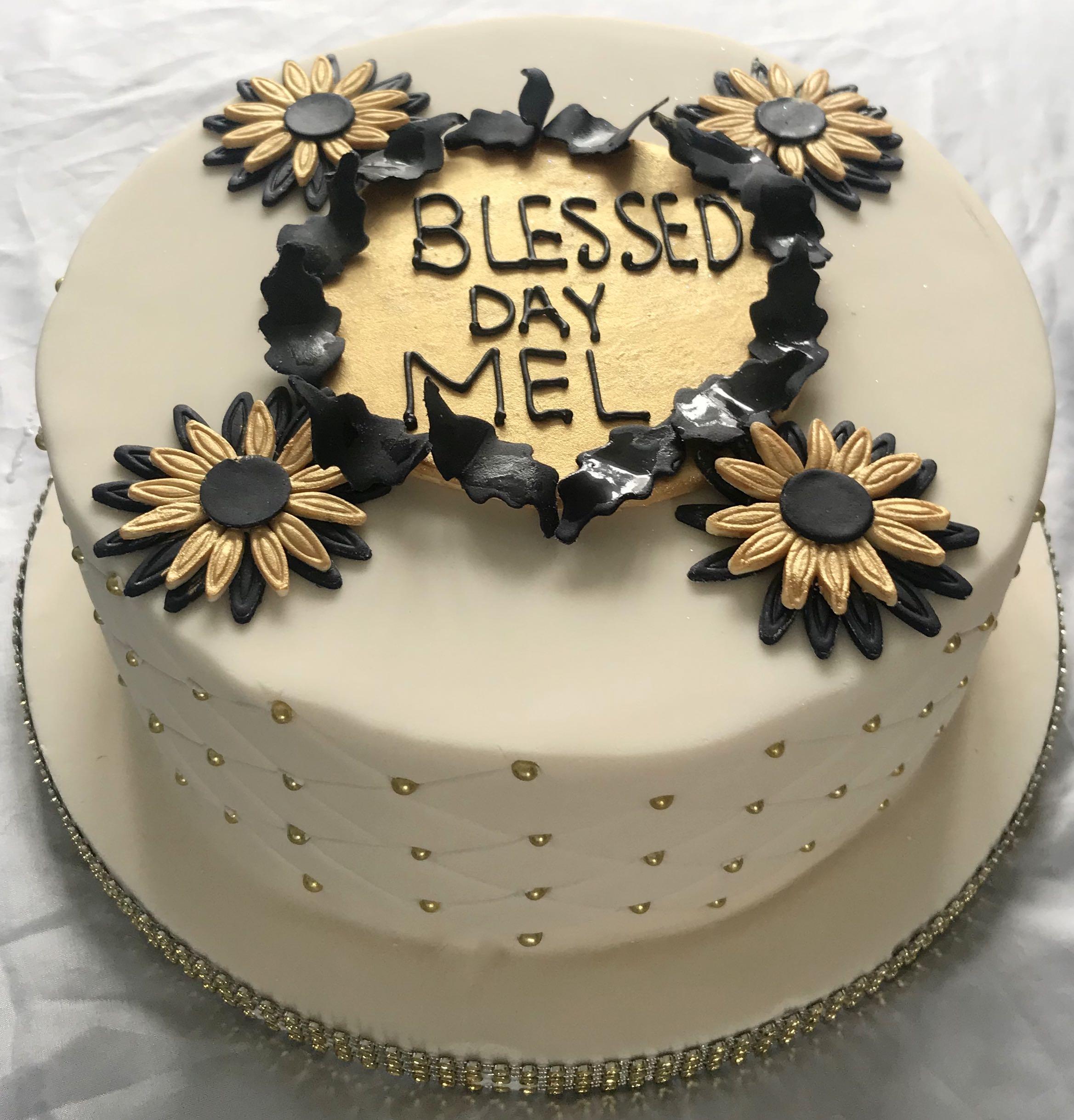 Blessed Birthday Cake