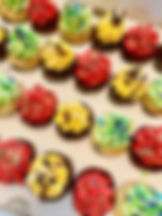 colourful caribbean cupcakes