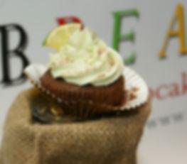Caribbean Cupcakes Chocolate & Lime Cupcake
