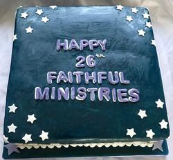 26th Anniversary Cake