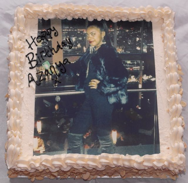 Photo Image Birthday Cake