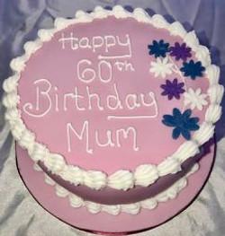 60th Birthday cake for Mum