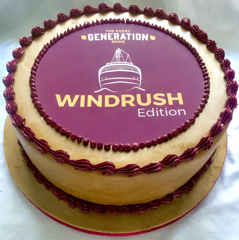 Windrush celebration cake