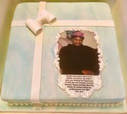 photo cake for mum