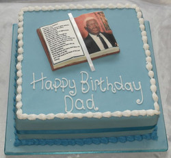 Photo Image Cake for Dad
