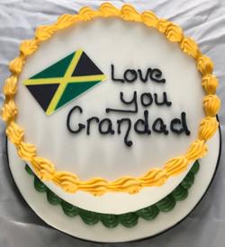 Grandad birthday cake