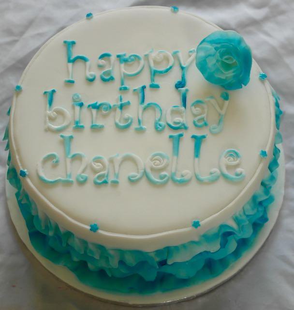Frilly Birthday Cake