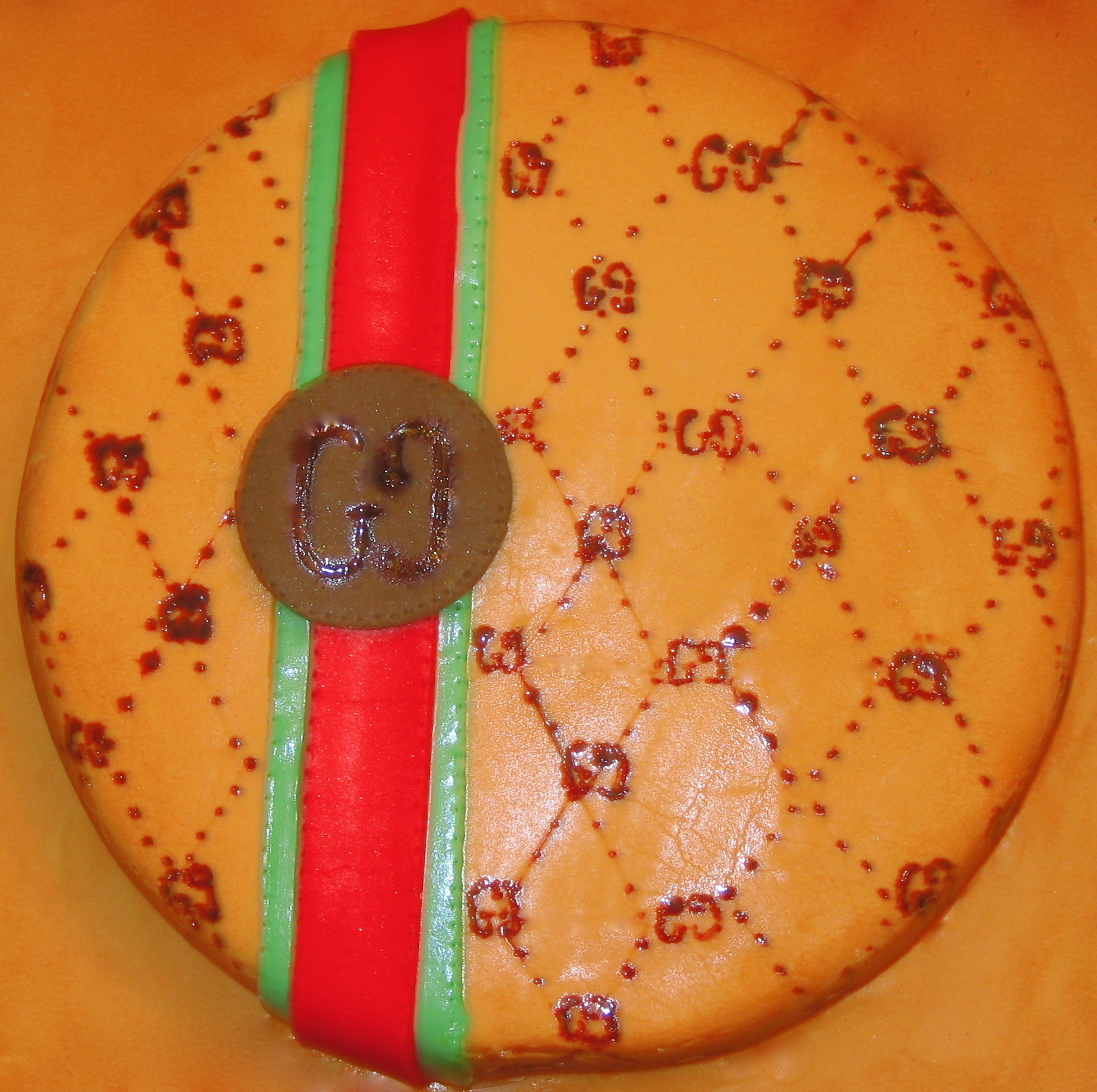 Gucci Birthday Cake